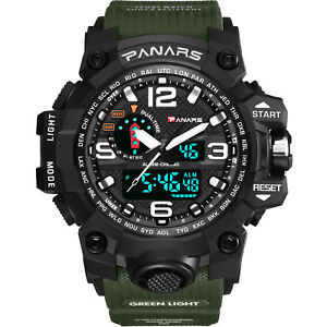 Men-039-s-LED-Tactical-Sport-Digital-Alarm-Waterproof-Stopwatch-Military-Wrist-Watch