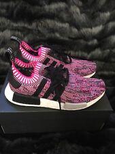 Adidas nmd r1 pk primeknit nucleo nero shock rosa bb2364 6 ebay