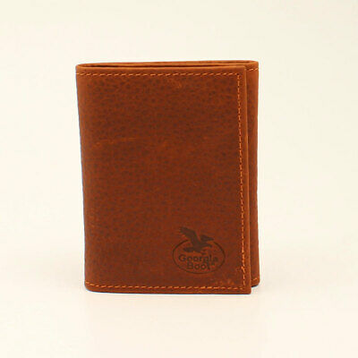Georgia Mens Western Wallet Leather Work Tan GBW166