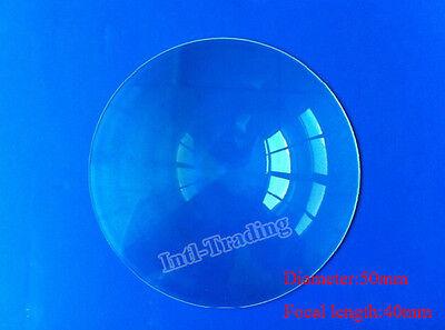 50mm Diameter Fresnel Lens DIY TV Projection Solar Cooker High Light Condenser