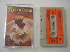 BLACKMORE'S RAINBOW RISING CASSETTE TAPE 1976 RED PAPER LABEL POLYDOR UK