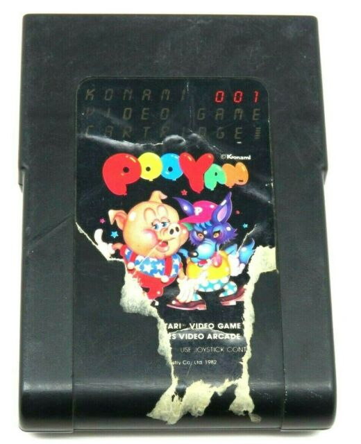Pooyan (Atari 2600, 1982) By Konami (Cartridge Only) NTSC #1