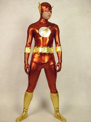 Halloween Lycra spandex zentai wrestling superhero cosplay flsh S--XXL