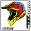 CASCO-CROSS-ENDURO-MOTARD-JUST1-J38-BLADE-BLACK-YELLOW-RED-BLUE miniatura 1