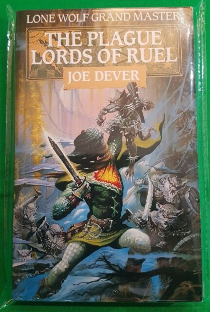 The Plague Lords of Ruel ***MINT UNREAD 1st EDITION!!*** Joe Dever Lone Wolf
