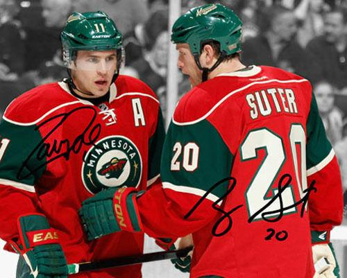 Ryan Suter Zach Parise Minnesota Wild Signed Photo Autograph Reprint