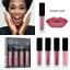 4-piezas-Set-Mujeres-Mini-Brillo-Labial-Mate-Maquillaje-Cosmetico-Impermeable-Lapiz-labial-liquido miniatura 2