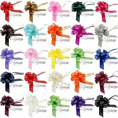 Large Quality Eleganza 50 mm Pull Bows  x 1 Gifts  Decorations Easter Floristy
