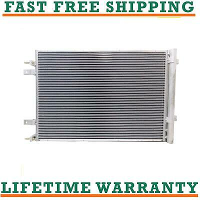 Replacement A//C Condenser For Ford F350 F250 F450 6.7L Diesel Direct Fit