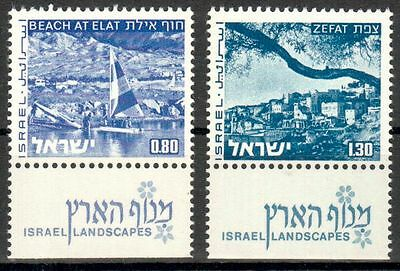 Israel intern:land Nachdenklich Israel Michelummer 624yii,625yii Postfrisch