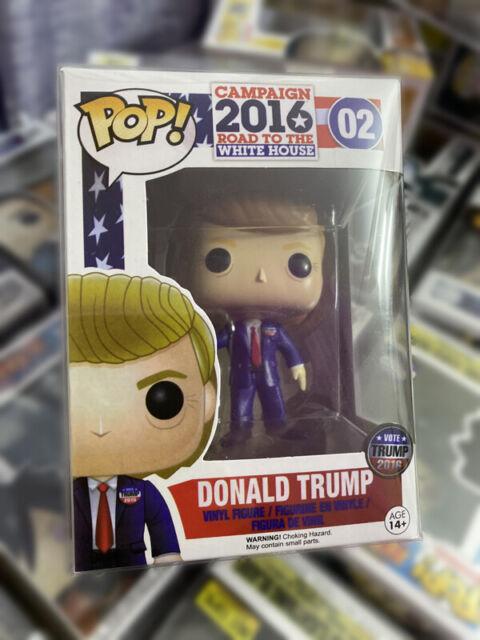 Funko pop donald trump 02 usa president figurine rare new box present
