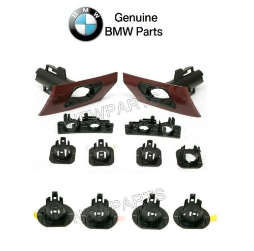 For BMW F30 3 Series Pair Set of Front+Rear Parking Aid Sensor Support Sets OES