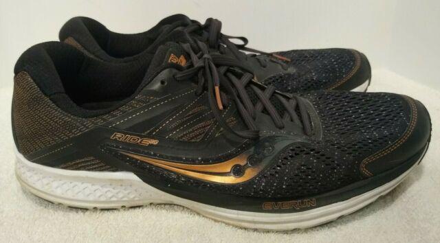 Running Shoes Black Denim Gold S20373