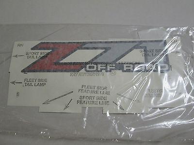 1999-2007 CHEVROLET SILVERADO GMC SIERRA Z71 BED DECAL LOGO STICKER 15779676