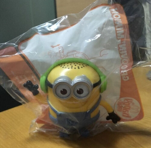 McDonald's Happy Meal Toy Groovin Minion