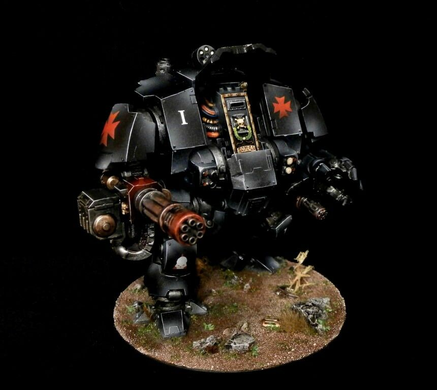 PRO-PAINTED Primaris Space Marines Redemptor Dreadnought COMMISSION 1 model