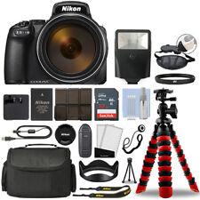 Nikon Coolpix P1000 16MP 4K Digital Camera with 125x Optical Zoom + 32GB Bundle