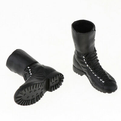 1:6 Military Combat Boots Male Shoes for 12inch Soldier Figure Doll Body Toy