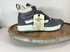 Vans-Ultrarange-Hi-All-Weather-Shoes-Sherpa-Quiet-Shade-VN0A4BU5XND-Sz-M5-5-W7