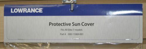 """Lowrance Protection Sun Cover 000-11069-001 s/'adapte à toutes les Elite//Crochet 7/"""" modèles"""
