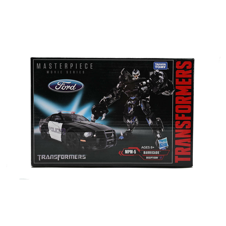 Transformers Masterpiece Movie Series MPM-5 MPM05 BARRICADE Action Geschenk NEU