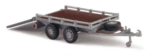 modello h0 1:87 Busch 59954 rimorchio da trasporto