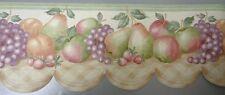 1Roll Wallpaper Border Norwall KA75882DC Prepasted  Fruit  5yds AX121//10