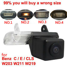 CCD Car Parking Rear View Camera for Mercedes Benz C E Class W203 W211 CLS W219