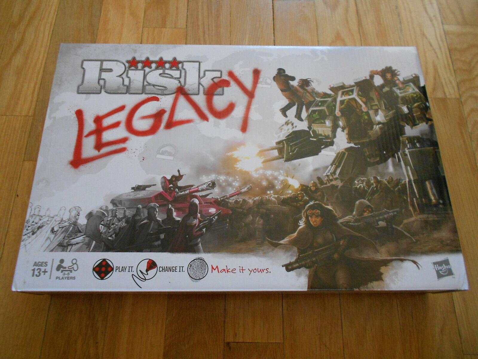 Gioco da Tavolo - Risk Legacy - Hasbro - Strategia -
