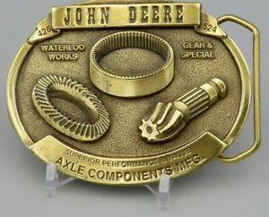 JOHN DEERE Axle Components MFG Limited Belt Buckle
