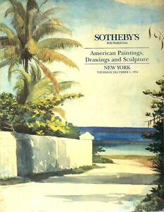 Sotheby-039-s-6633-American-Paintings-Drawings-Sculpture-Auction-Catalog-1994