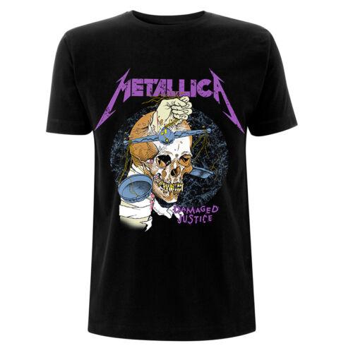 Damage Hammer Official Men/'s Black T-Shirt Metallica