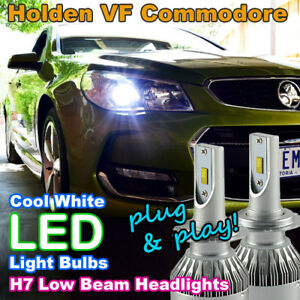 Pair-Canbus-H7-LED-Headlight-Bulbs-for-Holden-VF-Commodore-Low-Beam-SS-SSV-HSV