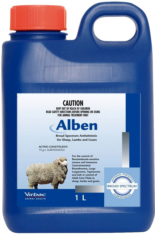 Alben Broad Spectrum Drench For Sheep Lambs And Goats 1