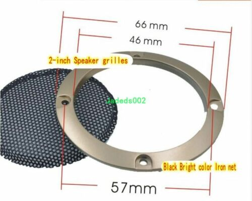 """1pcs 2//3//4//5//6.5//8//10/""""inch Speaker grilles Protective cover Decorative circle"""