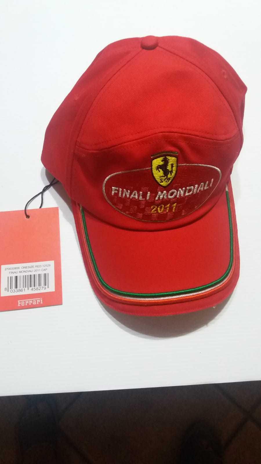 Ferrari Cappello,CAP,hat  finali mondiali 2011 rare