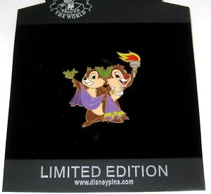 Disney Auctions Chip /& Dale Occupations Rocket Scientist Pin LE 100 Rare HTF