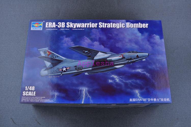 Trumpeter 02873 1 48 ERA-3B Skywarrior Strategic Bomber