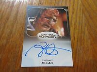 2017 Star Trek 50th Anniversary Brian Markinson As Sulan Autograph