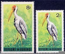 Ibis Ibis, Wading Sea Birds, Burundi MNH 2 stamps -  B23