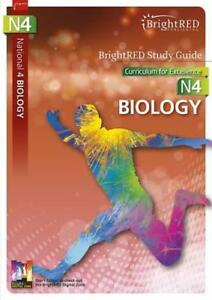 BrightRED-Study-Guide-N4-Biology-by-Margaret-Cook-and-Fred-Thornhill-NEW-Book