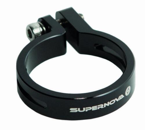 Supernova Seat Post Clamp 27.2mm Black.