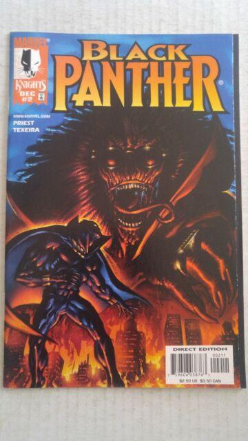 Black Panther #2 December 1998 Marvel Comics Priest Texeira