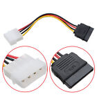 Lot of 6x Pack Molex IDE 4-pin to SATA 15-pin Power Connector Adapter Cable