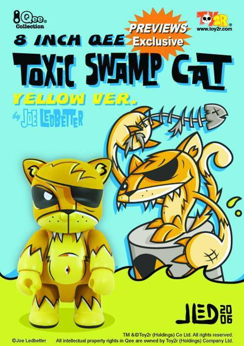 Joe Ledbetter JLED 8  Toxic Swamp Cat Yellow Yellow Yellow Dunny 496861