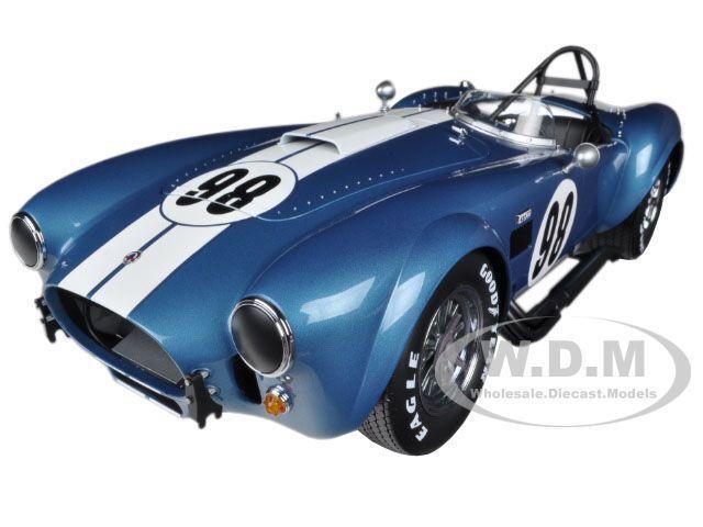 SHELBY COBRA 427 S C GUARDSMAN blueE 1 12 12 12 DIECAST CAR MODEL BY KYOSHO 08632 1ae660