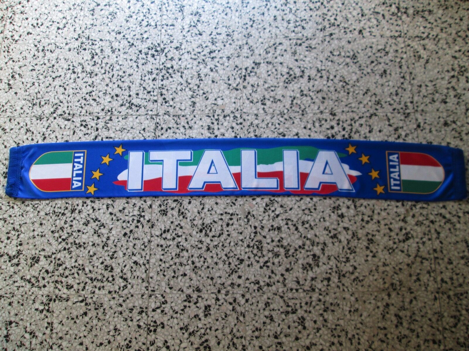 D12 sciarpa ITALIA football federation association scarf schal bufanda bufanda bufanda italy 6a0a42