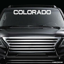 4WD Colorado Windshield Sticker  #AWTOP032LS