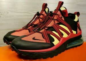 Details about Nike Air Max 270 Bowfin Black Red Yellow Hiking Trail Running AJ7200 003 Size 9