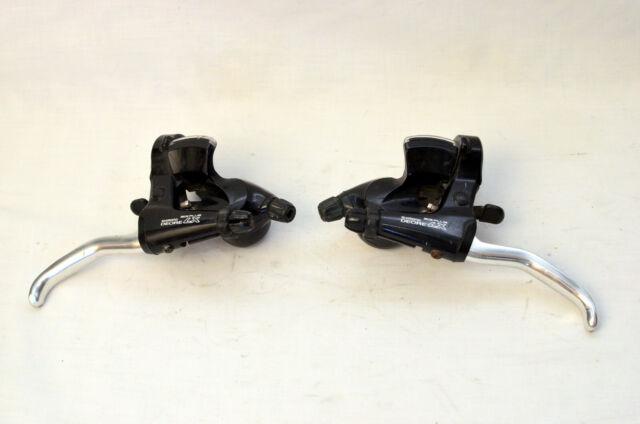 New Flo Motorsports Shimano Deore XT  Hydraulic Brake Lever Set Black